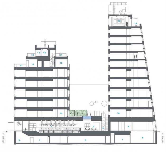 New York Architecture Images Chelsea National Maritime