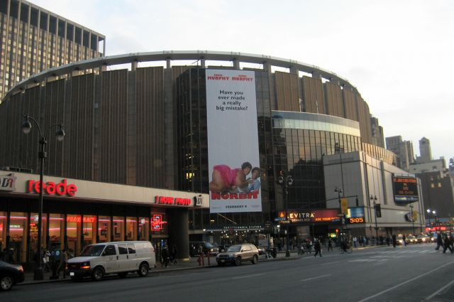 Madison Square Garden ... The New Structure Was 200 Feet By 485 Feet Of  Moorish Architecture With A Minaret  Nice Design