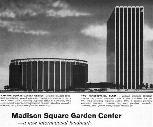 New York Architecture Images Madison Square Garden