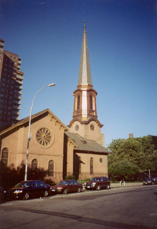 New York Architecture Images- Chelsea-Church of the Holy ...