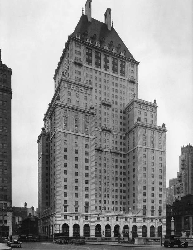 New York Architecture Images Savoy Plaza Hotel