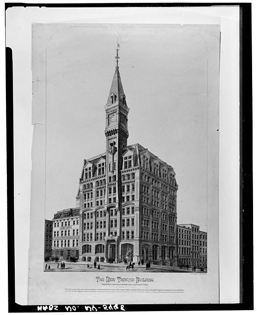 New York Times First Building