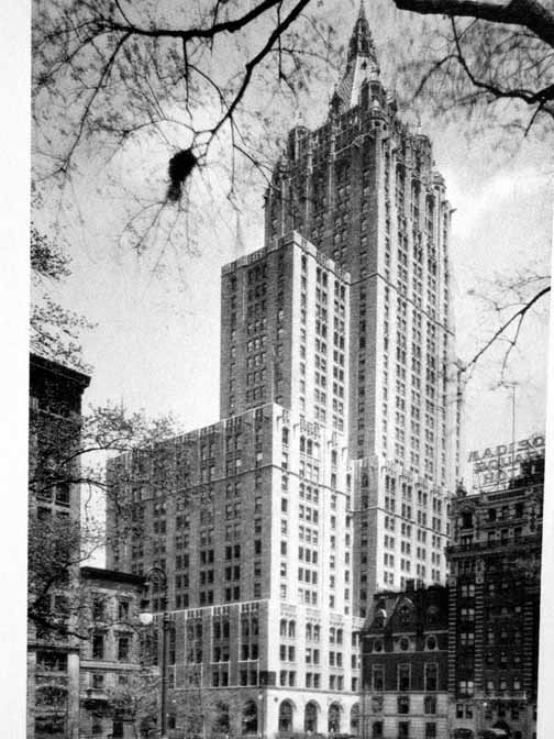 New york architecture images new york life insurance company for Architecture companies in nyc