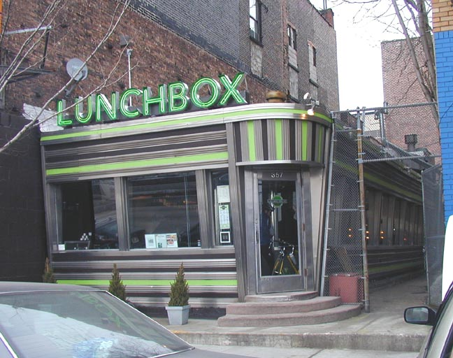 New York Architecture Images Lunchbox Diner