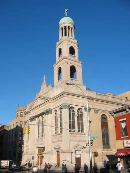 New york architecture images our lady of pompeii church the church was built in 1926 replacing a church where st francesca xavier cambrini the first american citizen to be canonised worshipped sciox Choice Image