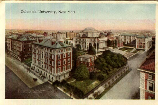 New York Architecture Images A BRIEF HISTORY OF COLUMBIA