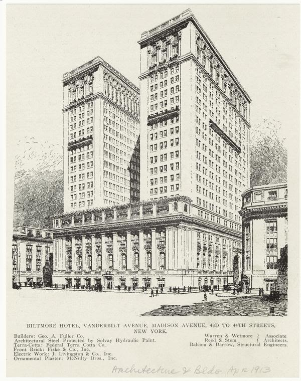 New york architecture images biltmore hotel publicscrutiny Image collections