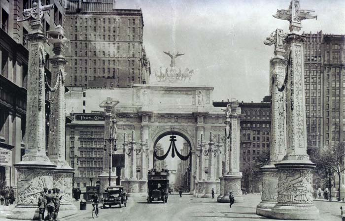 new york architecture images- victory arch