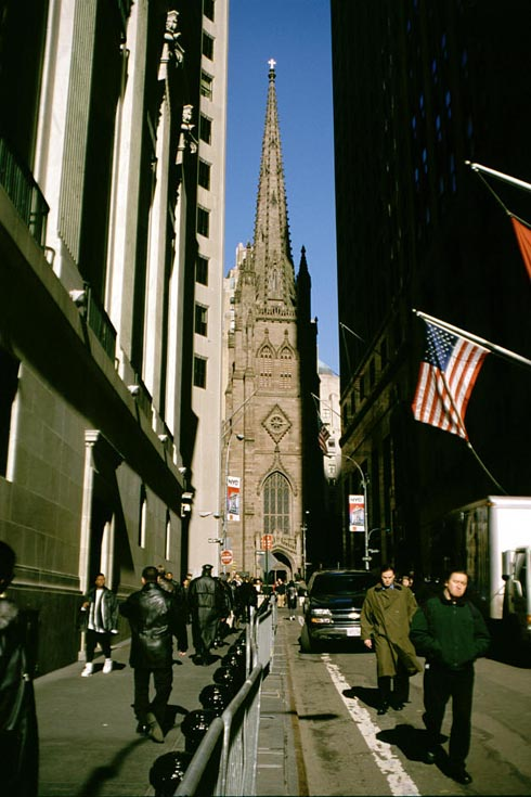 New York Architecture Images- TRINITY CHURCH