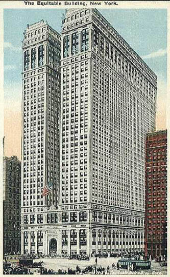 Equitable Life Building New York