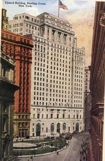 New York Architecture Images Cunard Building