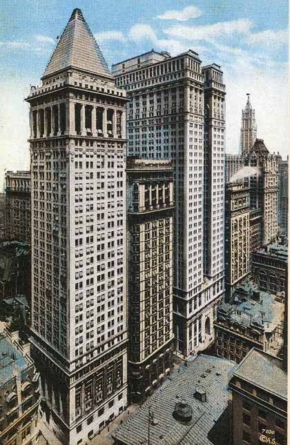 New york architecture images bankers trust company building for Architecture companies in nyc