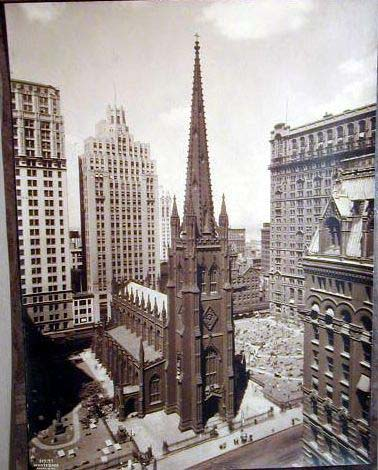 Church on New York Architecture Images  Trinity Church