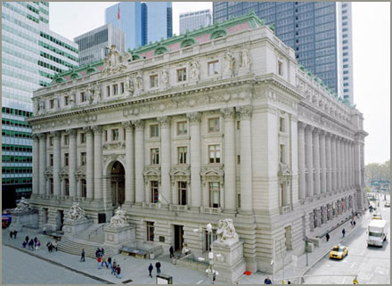 New York Architecture Images Alexander Hamilton Custom House