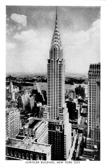 Click Here For Chrysler Building Gallery