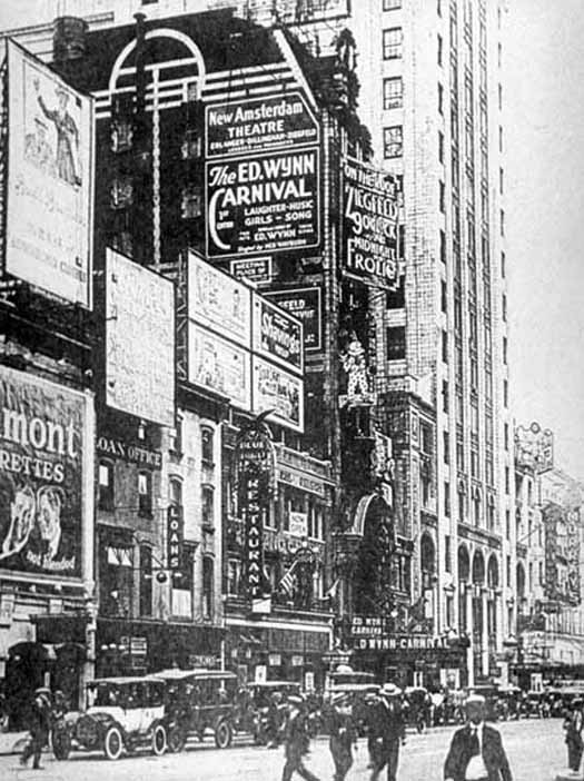 New york architecture images new amsterdam theater for Architecture 1920