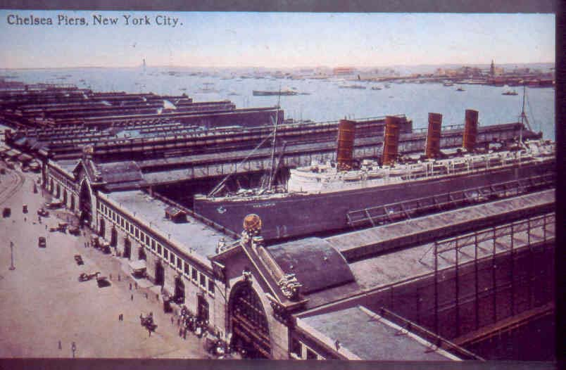 New york architecture images chelsea chelsea piers for Pier hotel new york