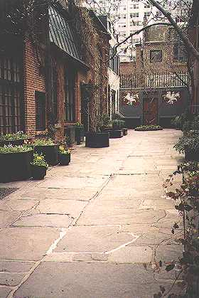 New York Architecture Images Sniffen Court Historic District