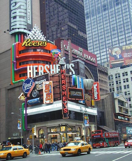 New York Architecture Images- Midtown- Times Square Short