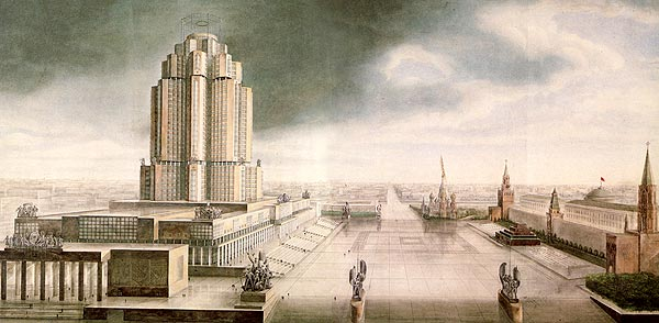 New york architecture images for Architecture urss