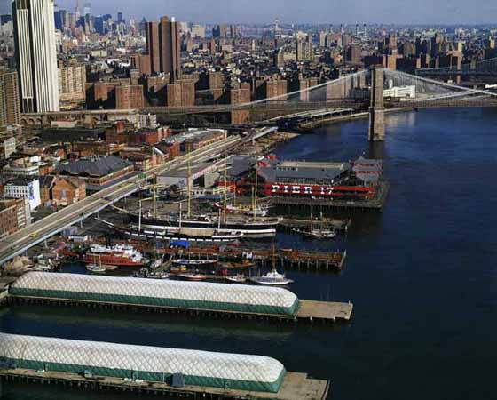 New York Architecture Images Pier 17