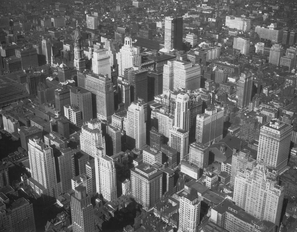 New York Architecture Images Black And White