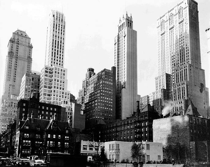 New york architecture images black and white new york