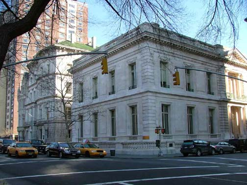 New York Architecture Images Cultural Services Embassy