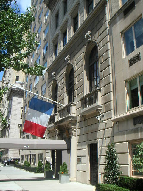 New York Architecture Images French Consulate