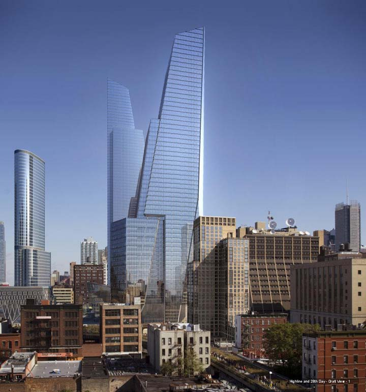 New York Architecture Images Hudson Yards Scissors