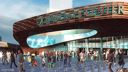 Madison Square Garden: New York Architecture Images- Barclays Center, Brooklyn