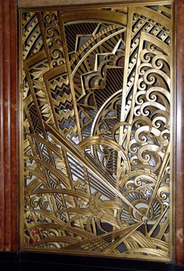 New York Architecture Images New York Art Deco Metalwork