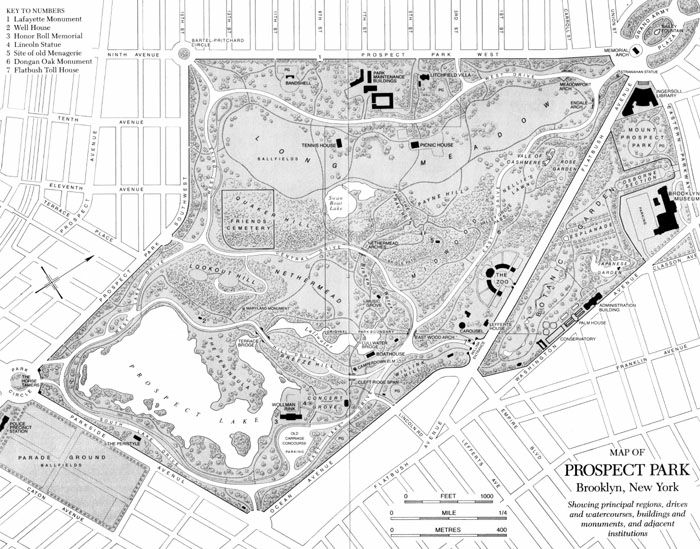Prospect Park Map Pdf New York Architecture Images  Prospect Park Prospect Park Map Pdf