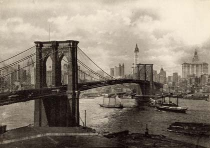 New York Architecture Images Brooklyn Bridge
