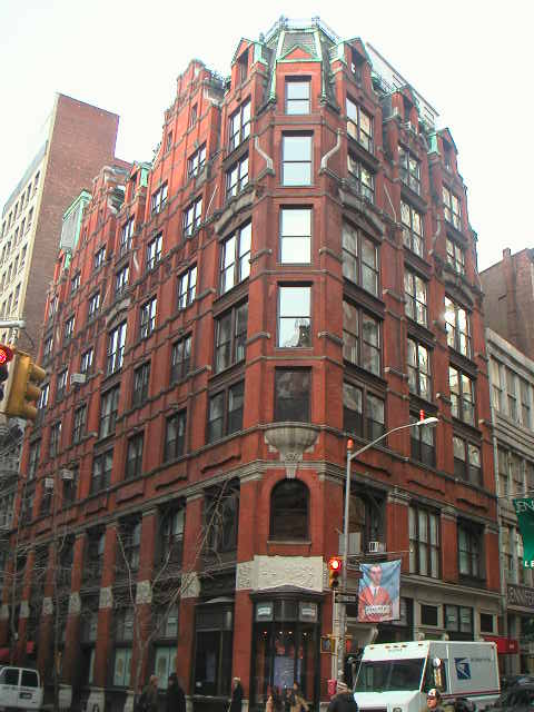 New York Architecture Images Chelsea Gorham Silver Company Building