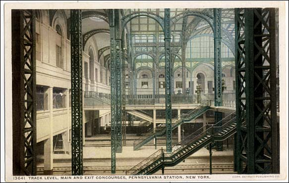 New York Architecture Images Penn Station