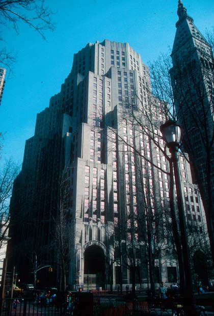 American University Map >> New York Architecture Images- Metropolitan Life Insurance ...