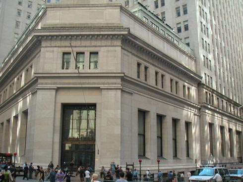 New York Architecture Images Morgan Guaranty Trust Building