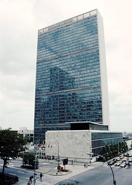 New York Architecture Images United Nations Headquarters