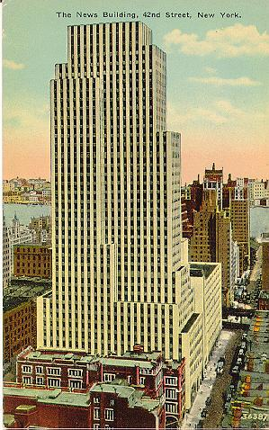 New York Architecture Images Daily News Building
