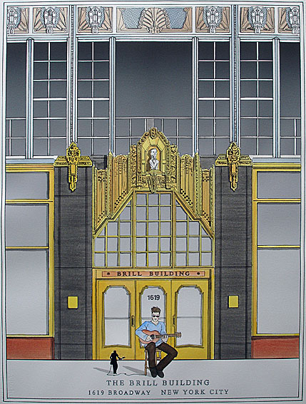 The Brill Building - The History of Rock and Roll