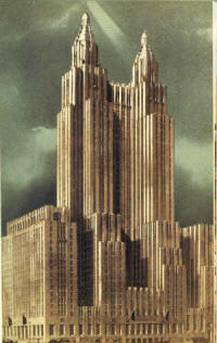 New York Art Deco Recent Skysers Hotels
