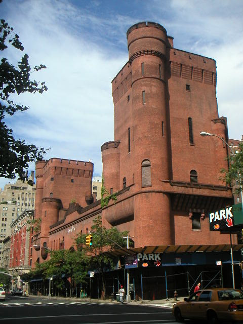 Hotels In New York City >> New York Architecture Images- Squadron A Armory Façade