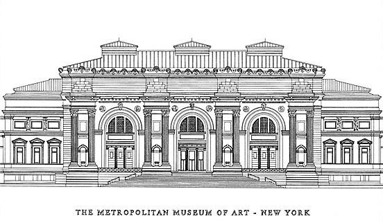 New York Architecture Images Metropolitan Museum Of Art